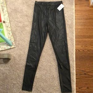Faux Leather Leggings- free press Nordstrom rack